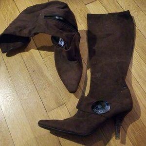 Bcbgirls Silvia stretch stiletto heel boots